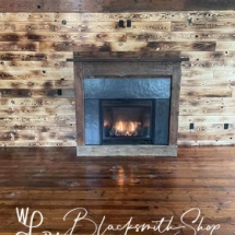 Fire Place Metal Framing